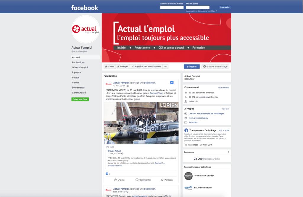 Social média - Groupe Actual 2