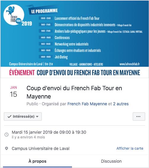 Vidéo et communication événementielle - French Fab 2