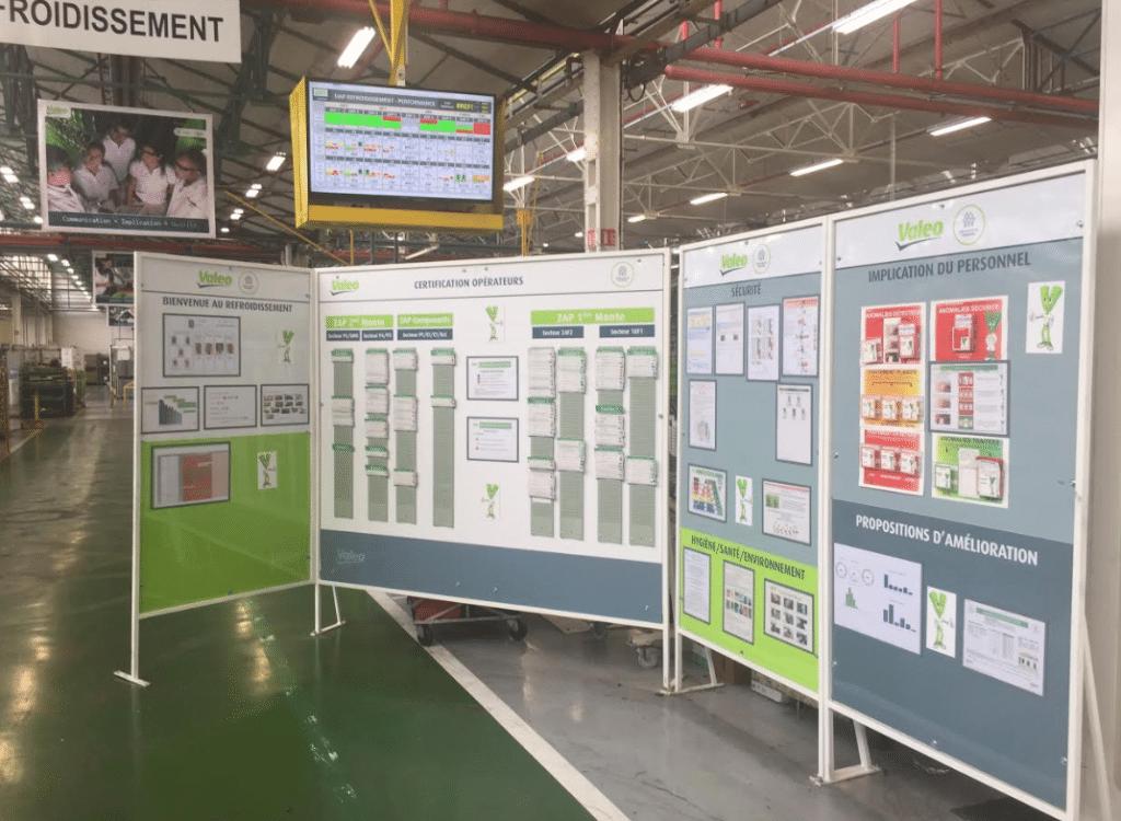 Illustration et plan usine - sites industriels 1