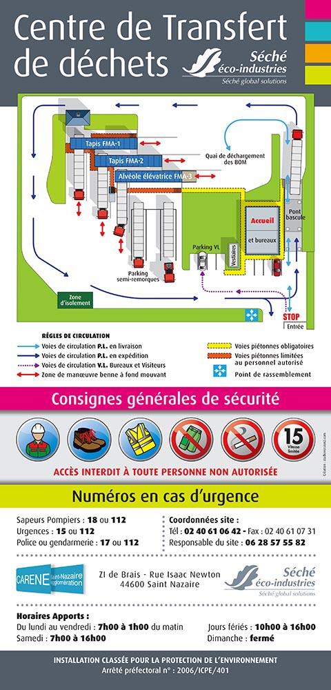 Illustration et plan usine - sites industriels 4