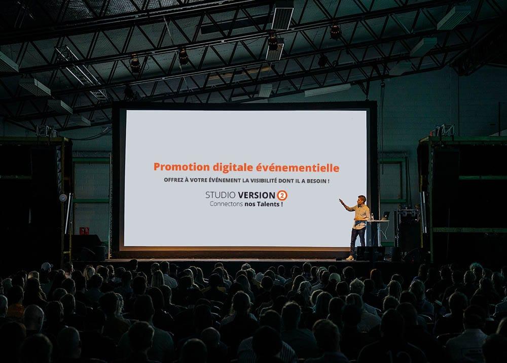 Découvrez 4 actions à réaliser pour promouvoir et réussir son événement avec Studio V3