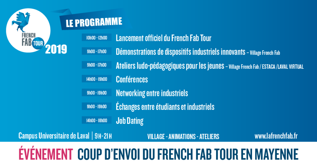 Le cas French Fab tour en Mayenne 3
