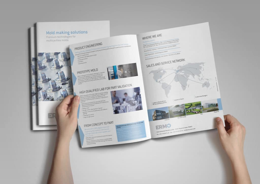 Créations Print : Brochure Ermo 1