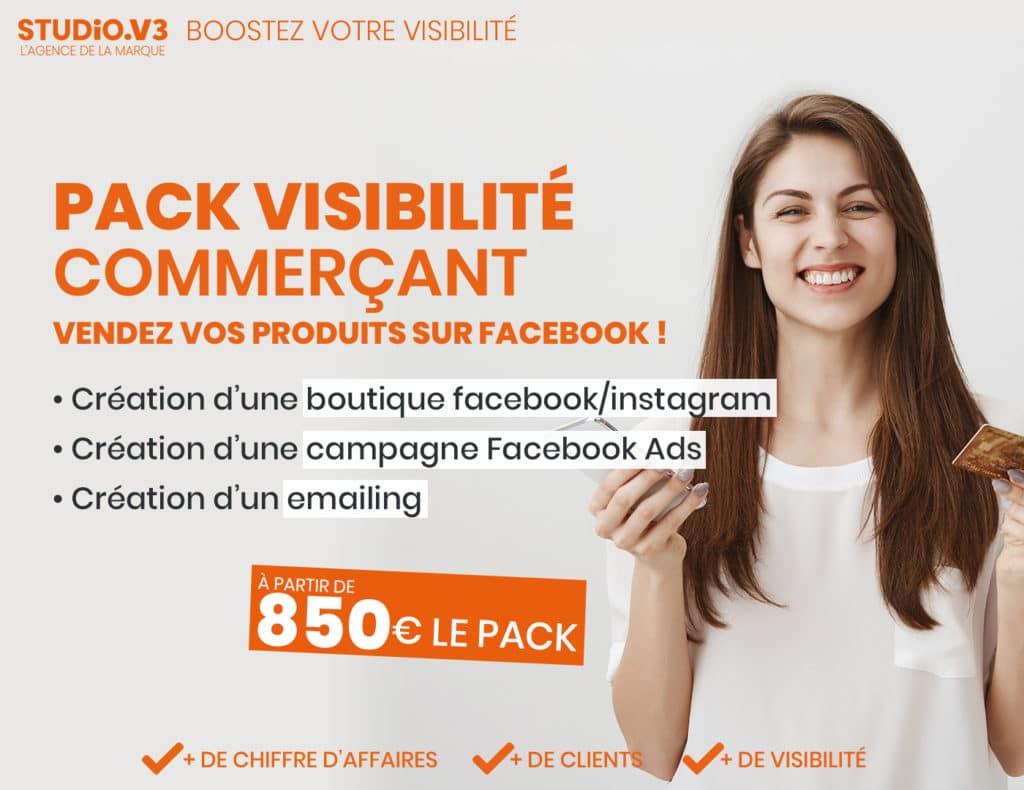 Pack Visibilité Commerçant 1
